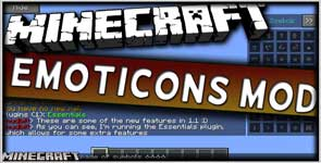 Chat Emotes (formerly EiraMoticons) (Forge) Mod 1.12.2/1.11.2/1.10.2