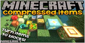 Compressed Items (Forge) Mod 1.15.2/1.14.4/1.12.2