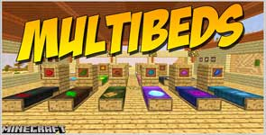 MultiBeds (Forge) Mod 1.16.5/1.15.2/1.14.4