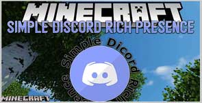Simple Discord Rich Presence (Forge) Mod 1.16.5/1.15.2/1.14.4